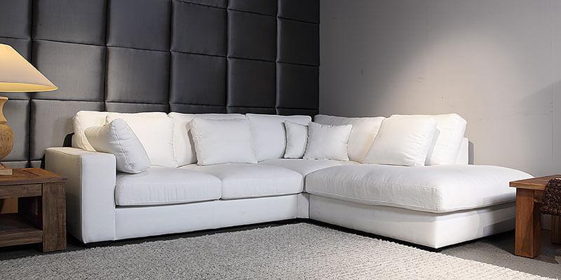 Een heerlijke lifestyle Loungebank met een perfecte balans tussen uitstraling en comfort.