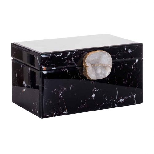 Jewellyery Box Maeve Black Marble