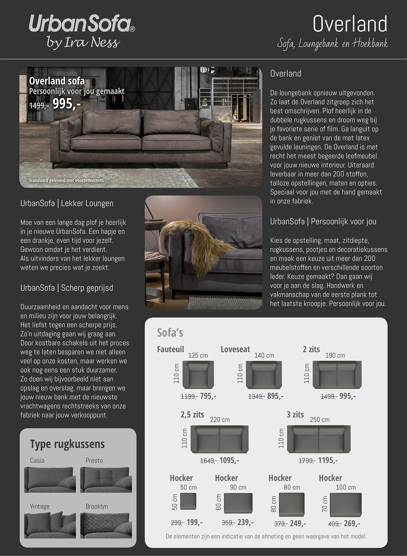 Overland Sofa