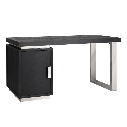 Bureau Blackbone silver 1-deur