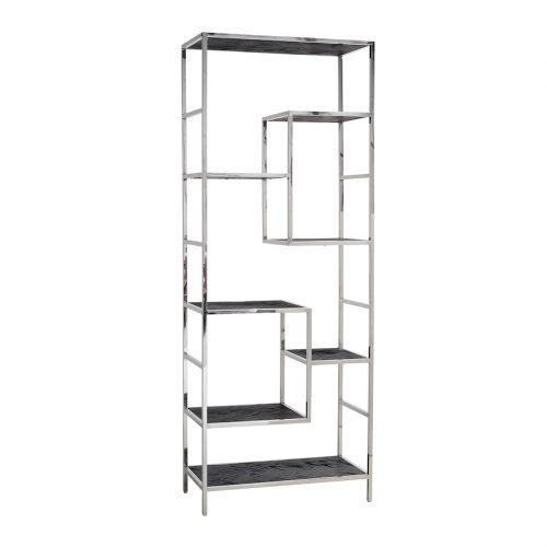 Wandkast Blackbone silver 7-planken