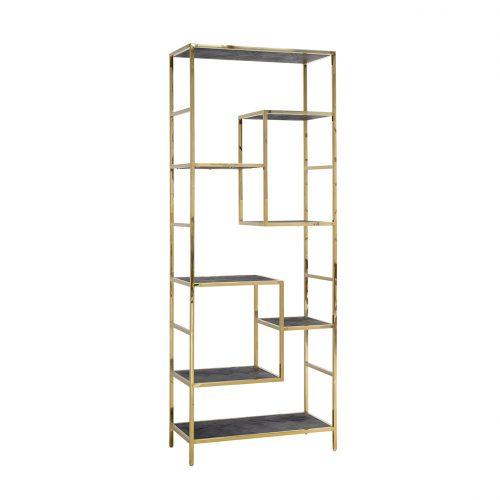 Wandkast Blackbone gold 7-planken