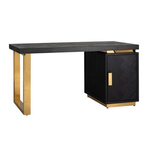 Bureau Blackbone gold 1-deur