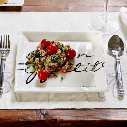 Buon Appetito Square Plate 22 x 22
