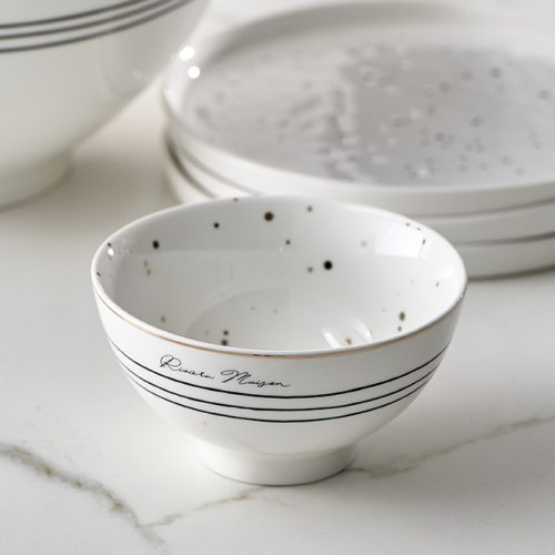 RM Dots & Stripes Bowl