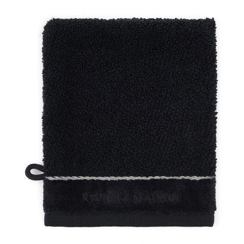 RM Elegant Washcloth black