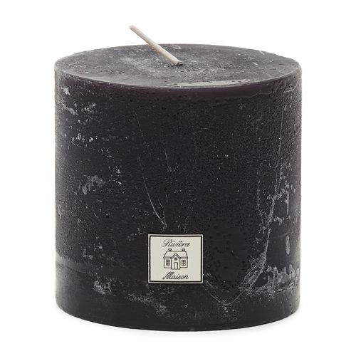 Rustic Candle black 10x10