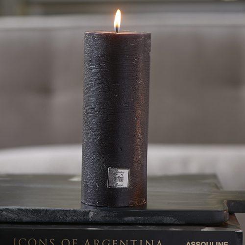 Rivièra Maison Rustic Candle black 7x18