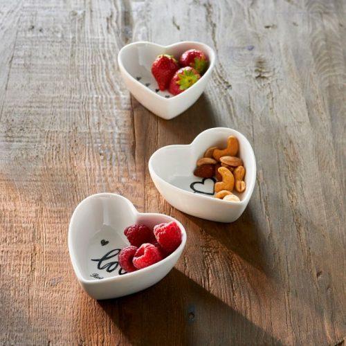 RM Lovely Heart Bowls 3 pcs