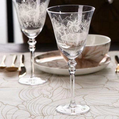 RM Les Fleurs Wine Glass